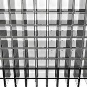 Gray glass rack — Photo