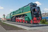 Soviet locomotive П36 — Photo