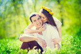 Paar in der liebe — Stockfoto
