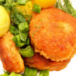 Stock Photo: Cutlets