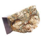 Stone chalcopyrite — Stock Photo