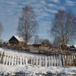 Winter village — Photo