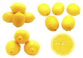 Lemons. Set — Stock Photo
