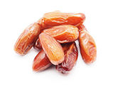 Dates on a white background — Foto Stock