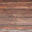 Wooden wall from old pine boards — Stock Photo