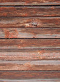 Wooden wall from old pine boards — Stockfoto