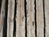 Pattern of old weathered timbered wall — Stock Photo