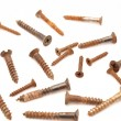 Rusty bolts and screws  — Stock Photo