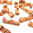 Stock Photo: Wooden puzzle