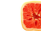 Square grapefruit — Stock Photo