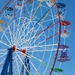 Stockfoto: Attraction Ferris wheel