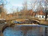 在一座桥公园 — 图库照片