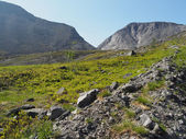 Khibiny mountains — Stock Photo