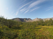 Khibiny mountains — Stockfoto