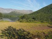 Khibiny mountains — Stock Photo