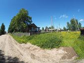 Drogi we wsi — Zdjęcie stockowe