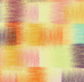 Grunge striped quilt colorful abstract background in pastel colors — Stock Photo