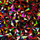 Colorful stained glass kaleidoscopic background — Stock Photo
