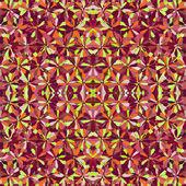 Colorful kaleidoscopic seamless pattern — Stock Vector
