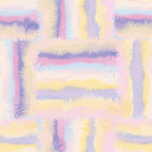 Grunge striped and checkered,stained seamless pattern in pastel colors — Stok Vektör