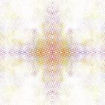 nahtlose symmetrische Muster mit bunten Punkten Elementen auf weißem Hintergrund — Stockvektor  #47304569
