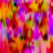 Rainbow grunge stained and striped vertical abstract background — Stock Photo