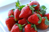 Frutta fragola — Foto Stock