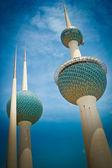 Kuwait Towers — Stock Photo