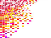 多彩方形马赛克 — 图库矢量图片
