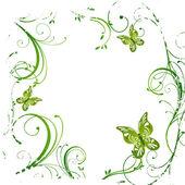 Floral design — Stock Vector
