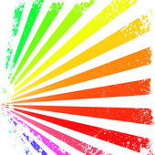 Colorful rays — Stock Vector