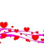 Red heart — Stock Vector #2671189