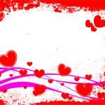 Red heart — Stock Vector #2671332