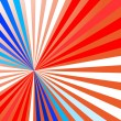 Colorful rays — Vector de stock