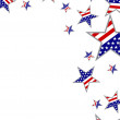4th july independence day — Image vectorielle