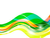 Colorful waves — Vetorial Stock
