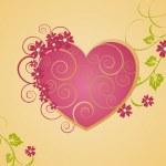 Romantic heart — Stock Vector #2868576