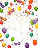 празднование карты — Cтоковый вектор