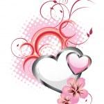 Romantic greeting card — Stock Vector #6697331