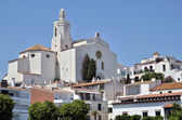 Santa Maria church of Cadaqués in Spain — Foto de Stock