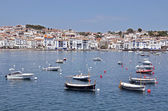 Port and town of Cadaqués in Spain — Stockfoto