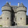 Castle of Guérande in France — Stock Photo