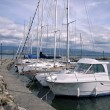 Стоковое фото: Port of Nernier in France