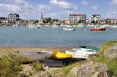Port of Saint-Gilles-Croix-de-Vie in France — Stock Photo