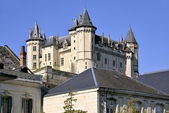 Castle of Saumur in France — Stock Photo