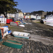 Port of Le Palais at Belle Ile in France — Stock Photo