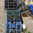 Lobster pot at Belle Ile in France — Stock Photo