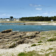 Rocky coastline of the Quiberon peninsula in France — Stock Photo