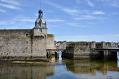 Belfry of Ville Close of Concarneau in France — Stock Photo