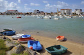 Port of Saint-Gilles-Croix-de-Vie in France — Stock Photo